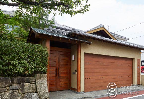 旗の台の和風住宅: craft estate
