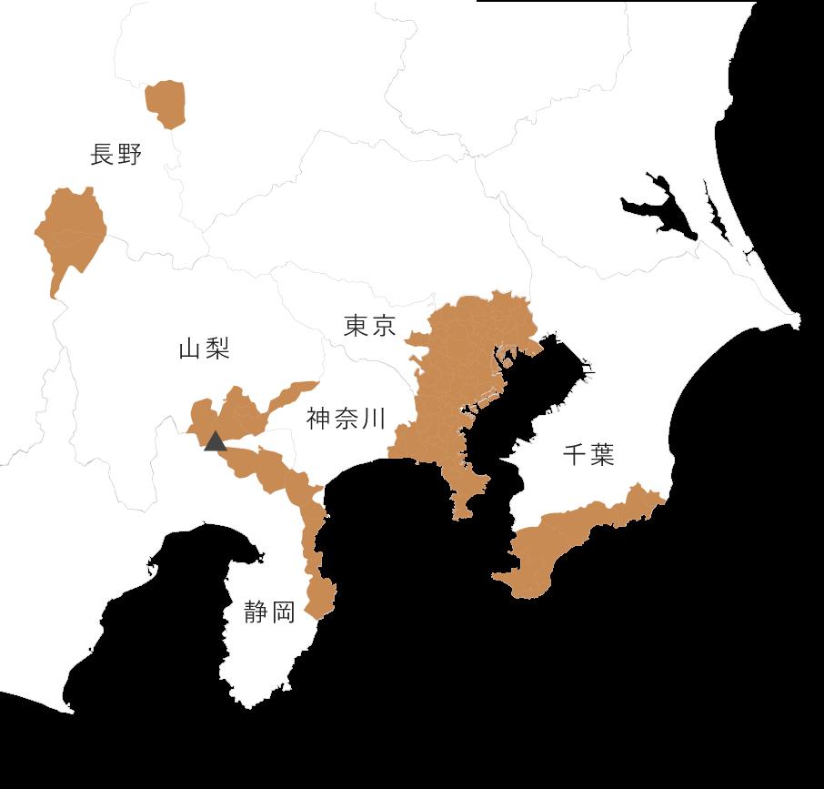 対応エリアマップ地図